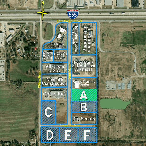 Henry P. Jones III Business Park: Site A