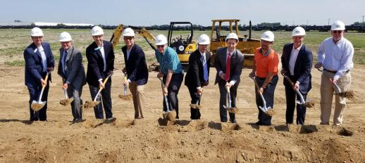 Risever and local economic development leaders break ground on new Jonesboro facility